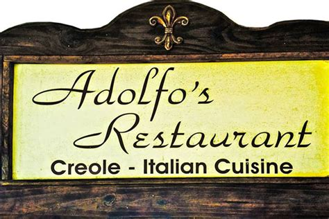 Adolfo's – New Orleans   Urban Dining Guide