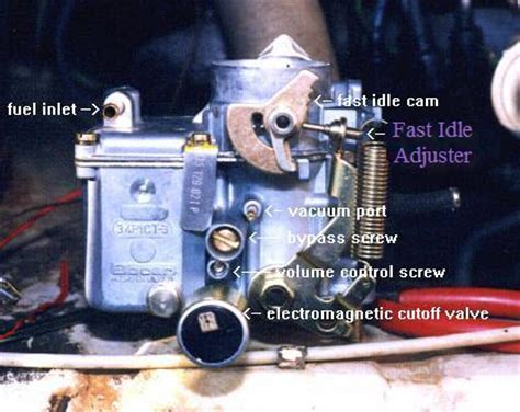 How to Set the 34Pict/3 Carburetor on an Aircooled