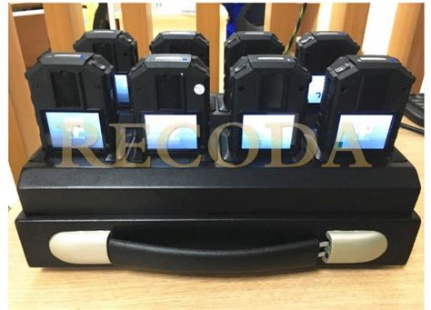 8 Ports Portable Docking Station For Police Body Worn