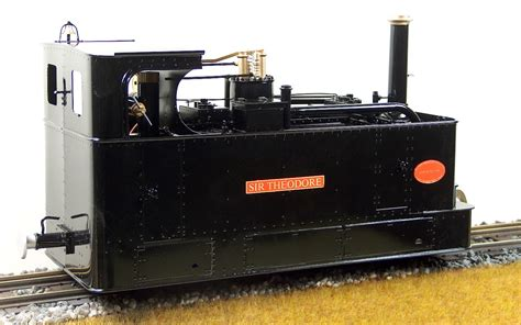 'SIR THEODORE' Glyn Valley Tramway Live Steam 0-4-0T